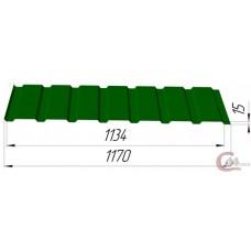 Профнастил ПК–15 0,5 мм Цветной